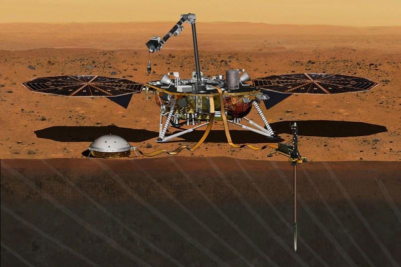 de Mars InSight Lander
