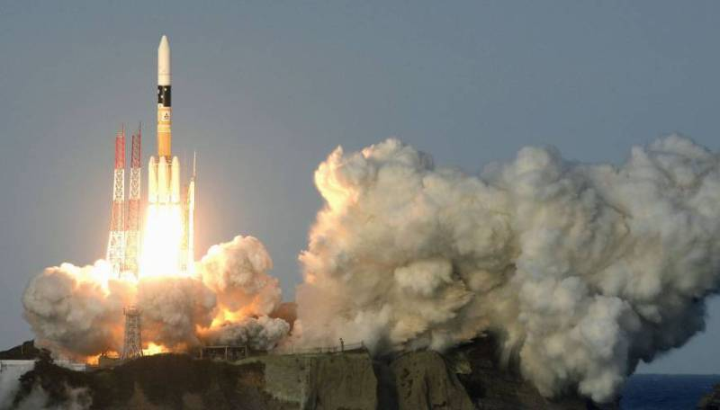 De Japanse H-IIA raket