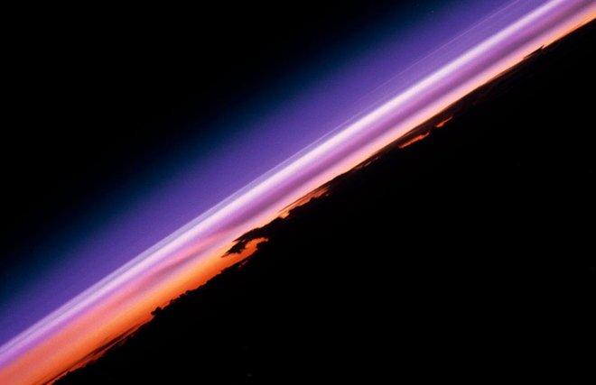 Onze atmosfeer gezien vanuit het International Space Station