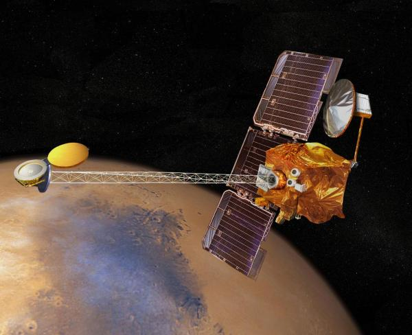 ruimtesonde Mars Addyssey