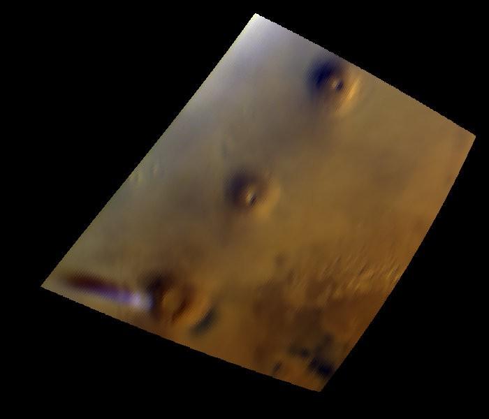 Lijwolk op Mars