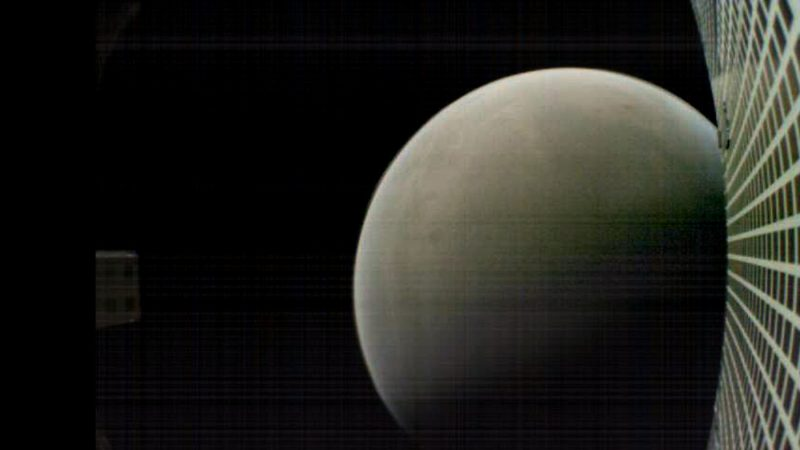 MarCO-B (Wall-E) bij Mars