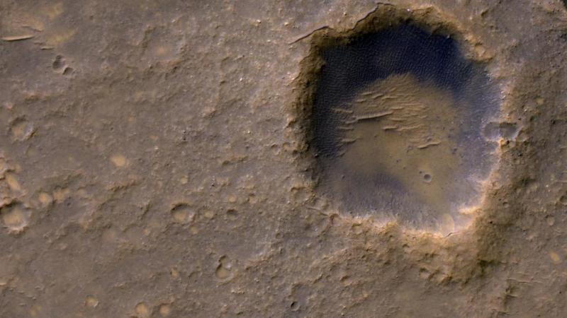 Bonville krater op Mars