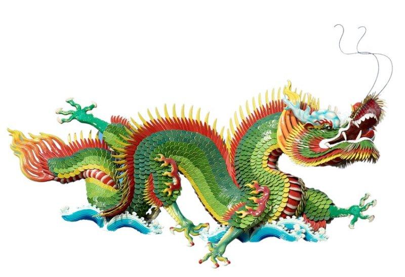 Chinese groene draak