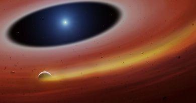Planetesimaal gevonden bij witte dwerg