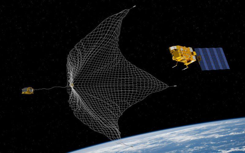ESA-missie om ruimtepuin te verwijderen