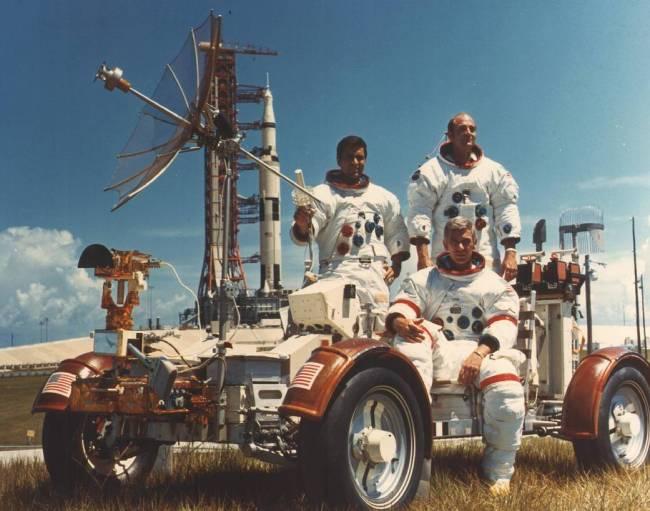 De bemanning van Apollo 17