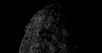 Asteroide Bennu gezien door de OSIRIS-REx