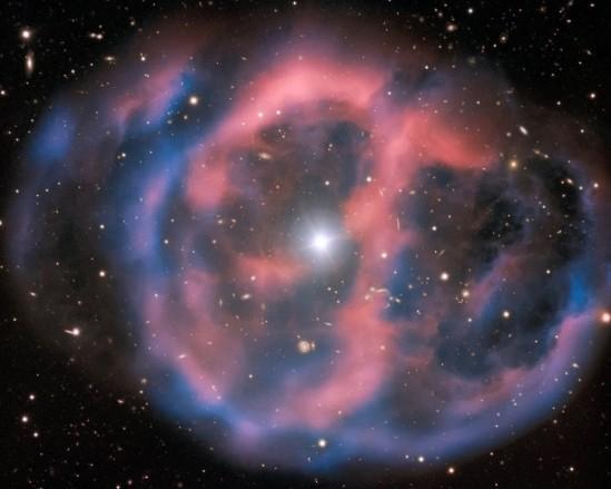 Restanten van een pulserende ster