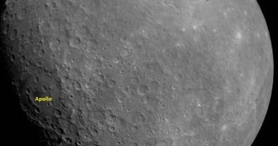 De eerste foto van de Maan die de Chandrayaan-2 heeft gemaakt