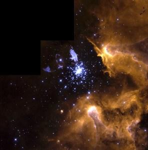 NGC 3603 in Carina
