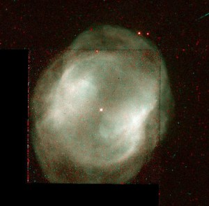 NGC 3195 in Chamaeleon