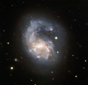 NGC 4027 in Corvus