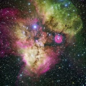 NGC 2467 in Puppis