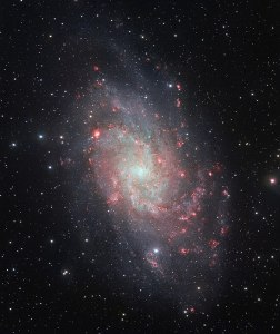 Messier 33 in Triangulum