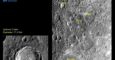 Chandrayaan-2 fotografeert het oppervlak van de Maan