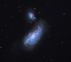 NGC 4490 in Canes Venatici