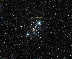 Messier 103 in Cassiopeia