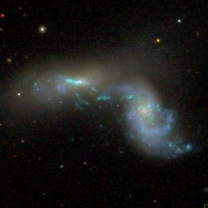 NGC 3395 in Leo Minor