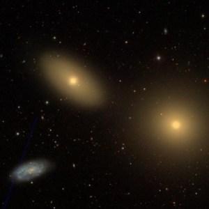 NGC 3384 in Leo