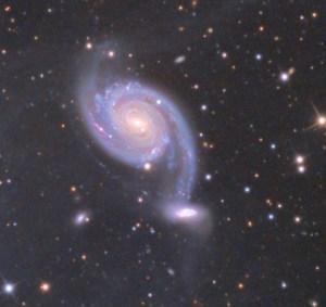 NGC 7752 en NGC 7753 in Pegasus