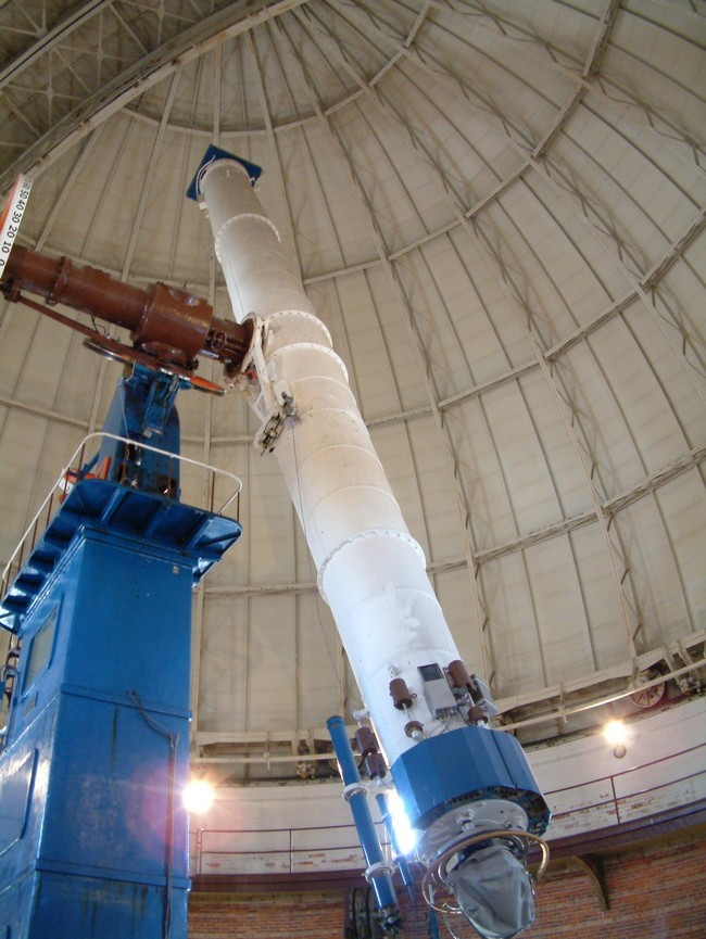 De 40 inch refractor van de Yerkes sterrenwacht