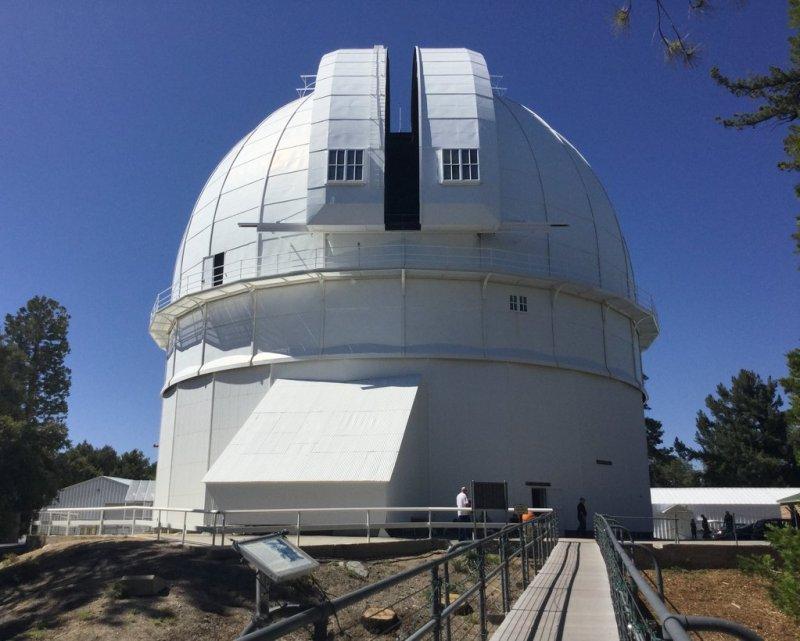 Koepel van de 100 inch Hookertelescoop