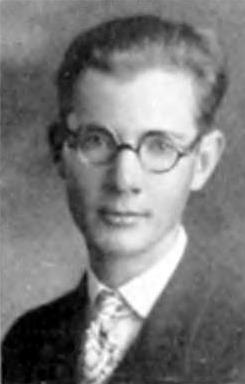 Fred Whipple in 1927