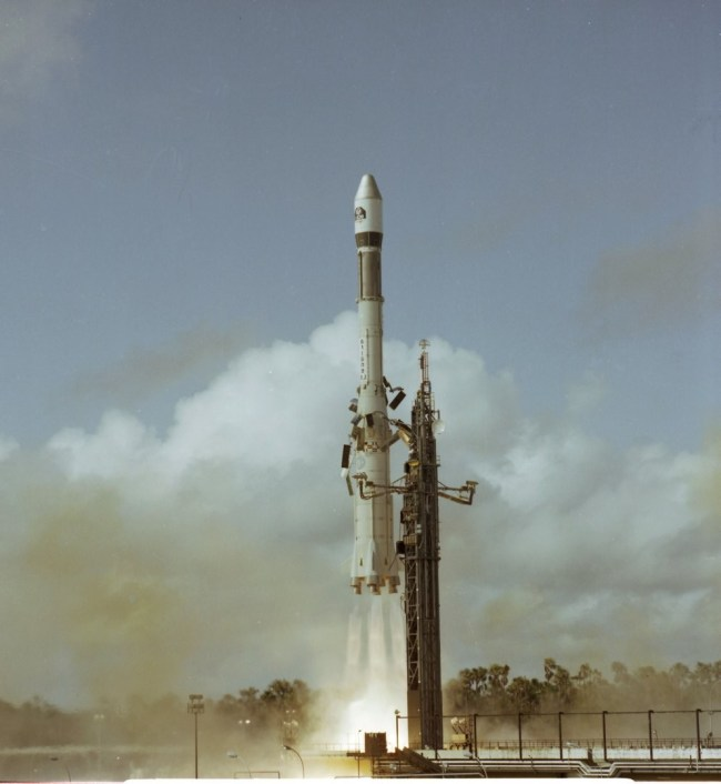 Lancering Ariane-1 raket