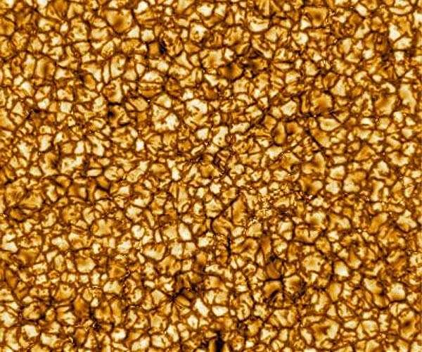 Oppervlak van de Zon gefotografeerd door de DKIST