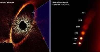 Hubble fotografeert Fomalhaut b