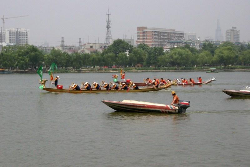 Drakenbootraces Nanjing