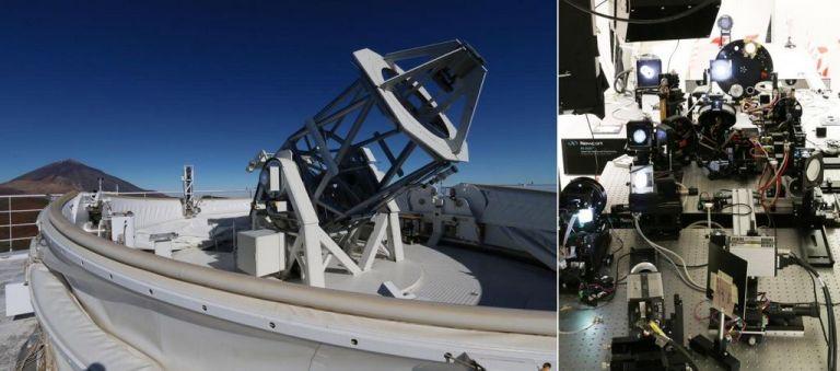GREGOR- de grootste zonnetelescoop van Europa