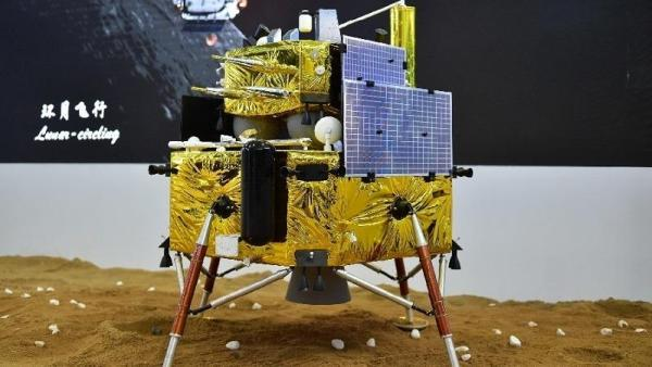 Model van de Chang'e 5 maansonde
