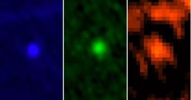 Apophis gefotografeerd door de Herschel Space Telescope