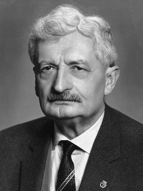 Hermann Oberth in de jaren 1950