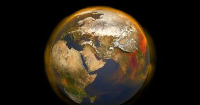 Wiebelende aardas en methaanconcentraties in de atmosfeer