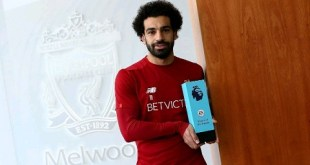 #SPORTVIBES: Salah named PFA Player of the Month of March