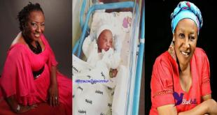 SEE PHOTO: It's baby number 16th, as actress Patience Ozokwo welcomes another grand child