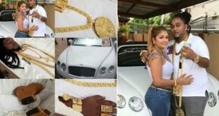 PHOTOS: 33-Year-Old Millionaire Buried With $2million Worth Of Jewelries and his favorite Timberland