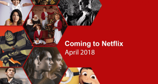New series coming to Netflix in April