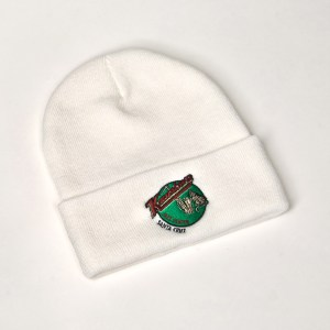 Jazz Cat Beanie White