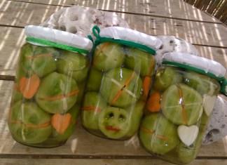 Zeleni paradajz u aceto balsamico sirćetu