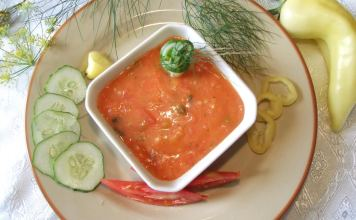 Posna paradajz čorba