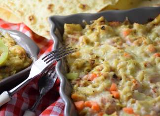Kremasti mlinci sa pečenicom i povrćem za super brz i ukusan ručak