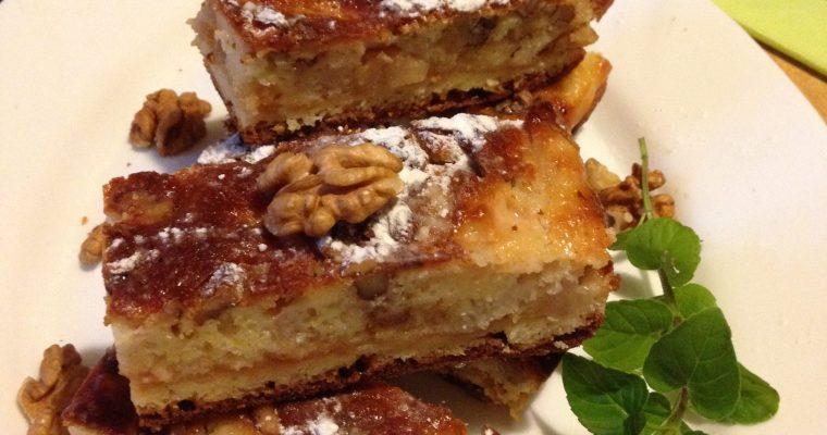 Fantastična lenja pita sa jabukama i orasima