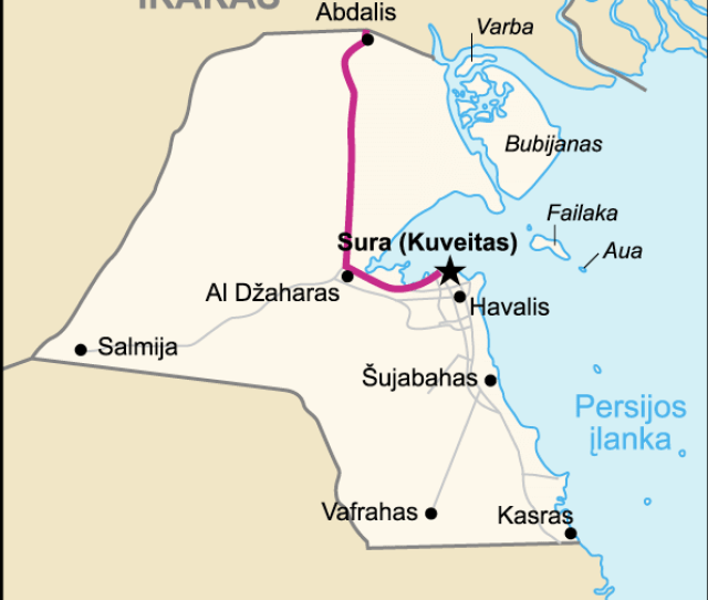 Highway_of_death__map_of_kuwait_lithuanian