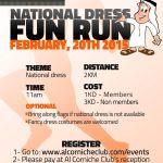 National Dress Fun Run , Kuwait