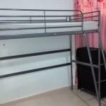 Ikea Bunk Bed Steel Frame Silver Color Ikea Matress Furniture Show Ad Kuwait Upto Date Kuwait Upto Date