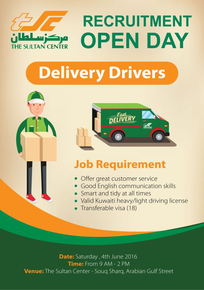 Delivery Drivers  Jobs Available  Show Ad  KUWAIT UPTO